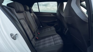 Volkswagen Golf GTD hatchback rear seats