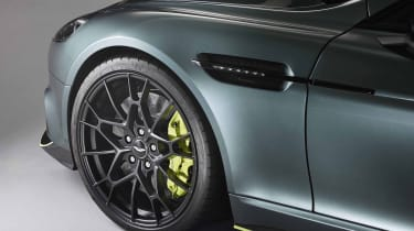Aston Martin Rapid AMR – left front detail