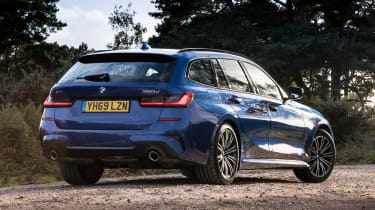 BMW 3 Series Touring - rear view