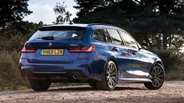 BMW 3 Series Touring - rear view