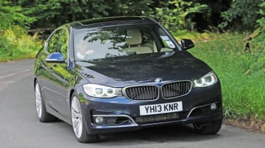 BMW 3 Series Gran Turismo front cornering