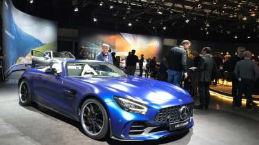 Mercedes-AMG GT R Roadster Geneva Motor Show front quarter 2