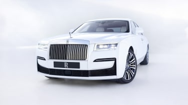 2020 Rolls-Royce Ghost - front 3/4 static
