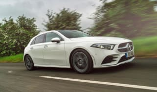 Mercedes A-Class AMG Line - front 3/4 driving
