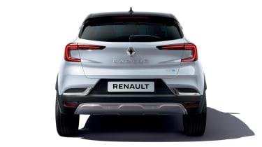2021 Renault Captur E-Tech Hybrid SUV - rear view