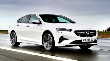 Vauxhall Insignia hatchback front 3/4 tracking