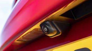 Hyundai Kona Hybrid SUV rear-view camera