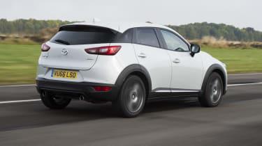 Mazda CX-3 - rear 3/4 view