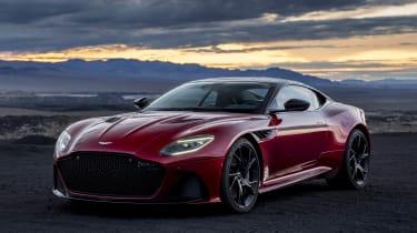 Aston Martin DBS Superleggera front static