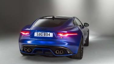 2020 Jaguar F-Type rear view