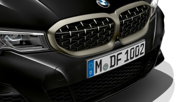 2019 BMW M340i xDrive grille