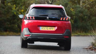 Peugeot 5008 SUV rear cornering