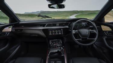Audi e-tron Sportback SUV interior