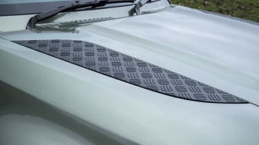 Land Rover Defender SUV bonnet