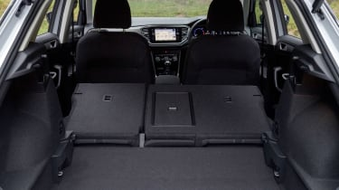 Volkswagen T-Roc SE boot - rear seats down