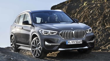 2019 BMW X1 SUV - front 3/4 static close up