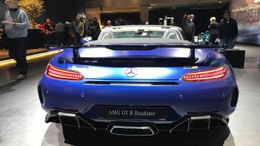 Mercedes-AMG GT R Roadster Geneva Motor Show rear