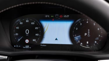 Volvo XC60 SUV digital instruments