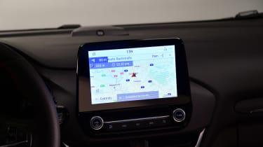 2020 Ford Puma - infotainment screen
