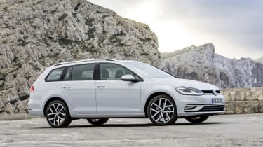 If you really want to have fun behind the wheel of a Golf Estate, check out the Volkswagen Golf R Estate