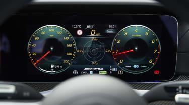 Facelifted Mercedes-AMG E53 dials
