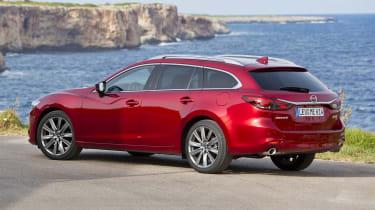 Mazda6 Tourer side/rear view