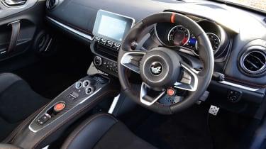 Alpine A110S interior