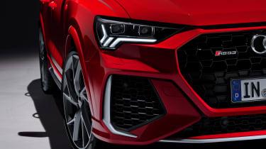 Audi RS Q3 front end detail