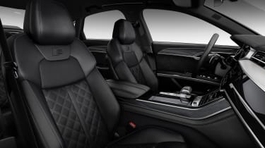 2019 Audi S8 interior side view