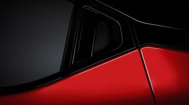New Nissan Juke hidden rear door handle