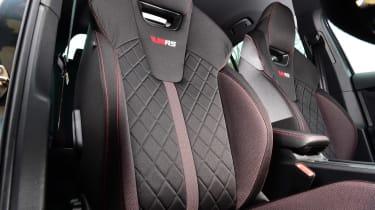 Skoda Octavia vRS hatchback front seats