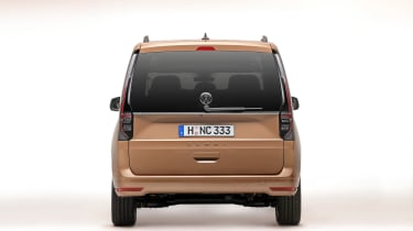 Volkswagen Caddy in brown - rear end