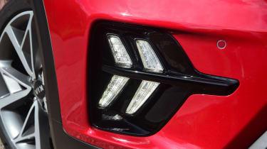 Kia Niro SUV fog lights