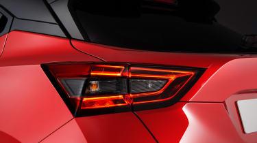 New Nissan Juke brake light cluster