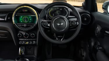 MINI Electric hatchback interior
