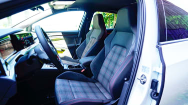 Volkswagen Golf GTI hatchback sports seats