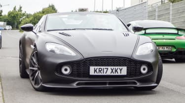 The Aston Martin Vanquish Zagato Speedster has been spotted during tests – Image credit: Automedia