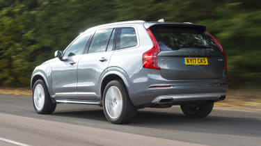 Volvo XC90 T8 - rear 3/4 view