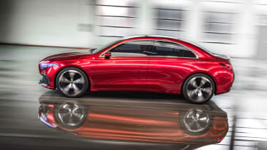 It'll sit alongside the CLA as a more conventional saloon model