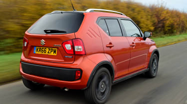 If you want a crossover on a budget, the Ignis comfortably undercuts the likes of the Renault Captur and Vauxhall Mokka X
