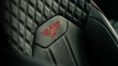 2020 Bentley Bentayga SUV - embossed Bentley logo