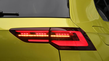 2020 Volkswagen Golf - tail-light close-up