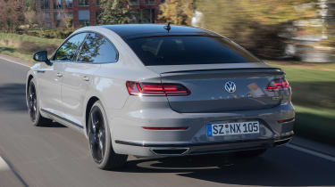 Volkswagen Arteon R-Line Edition driving - rear view