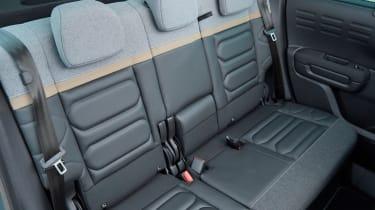Citroen C3 Aircross SUV rear seat upholstery