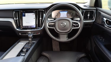 Volvo V60 estate interior
