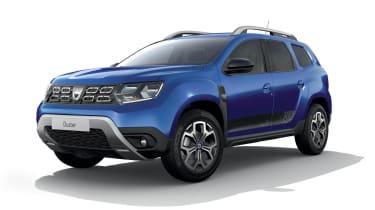 Dacia Duster SE Twenty front 3/4 view