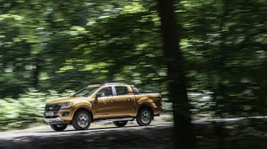 2019 Ford Ranger Wildtrak -  side dynamic view