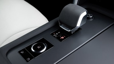 Land Rover Discovery SUV gear selector