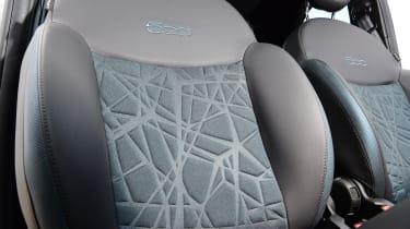 Fiat 500 mild hybrid front seats
