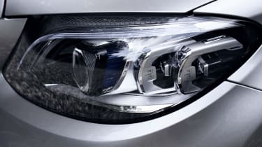 Mercedes C-Class Estate headlights